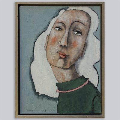 Portret witte haren