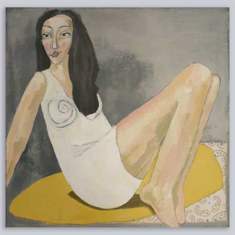 Schilderij Vrouw Patroon 2
