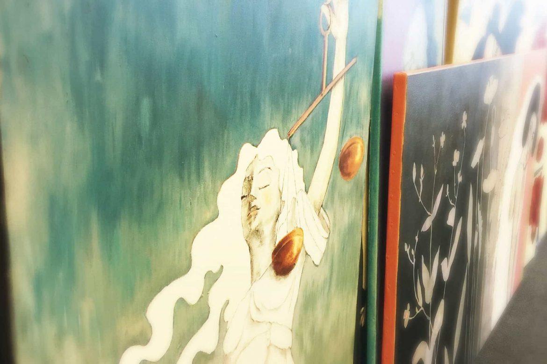 Online schilderij painting