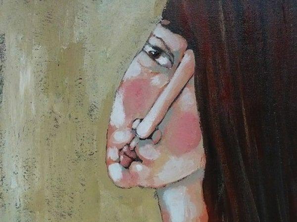 Schilderij one Eye