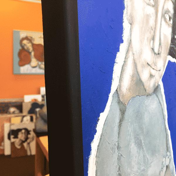 Meewind Schilderij
