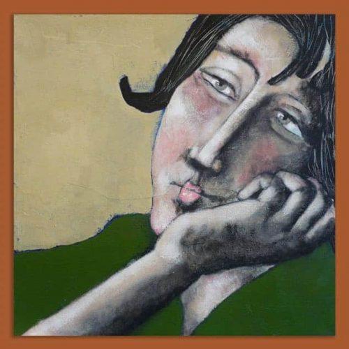 Schilderij Contemplatie