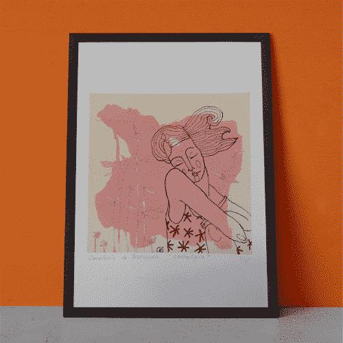 Kunstprint Nostalgia