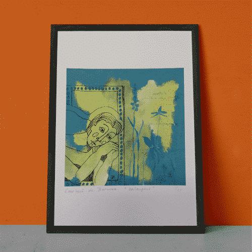 Kunstposter Verlangens