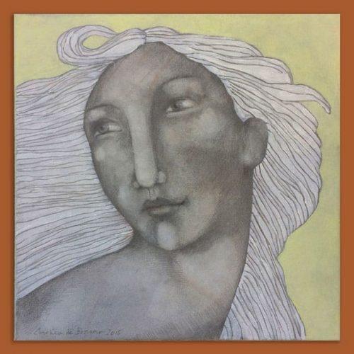 Schilderij Eva