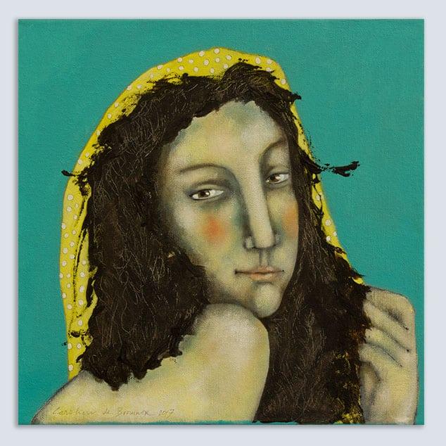 Schilderij Gypsy