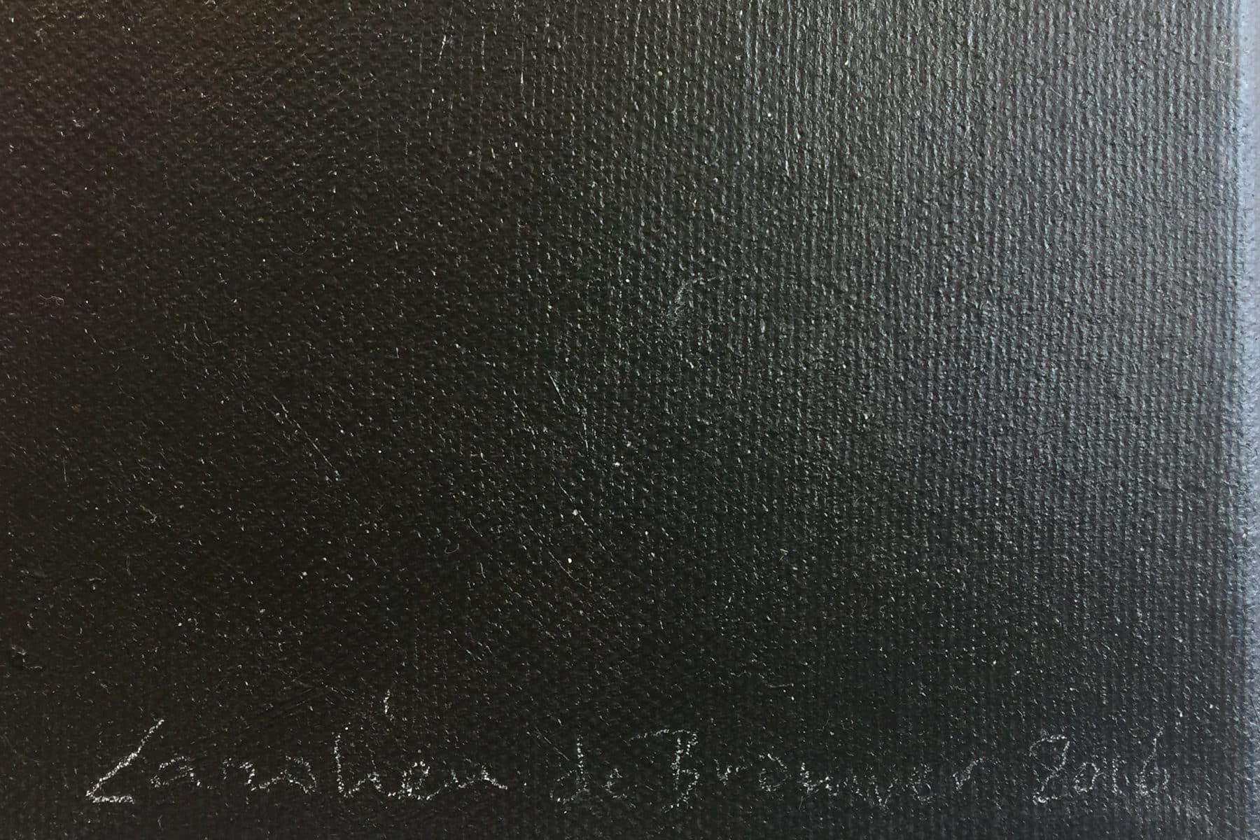 Detail schilderij Looks