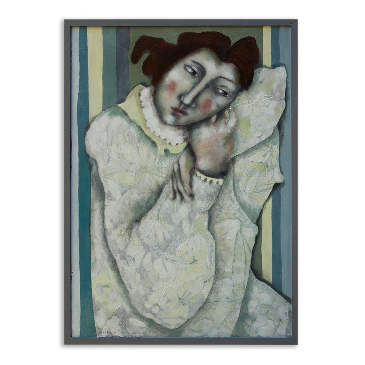 Schilderij Remembering Matisse