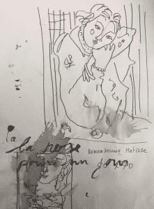 Schets Matisse