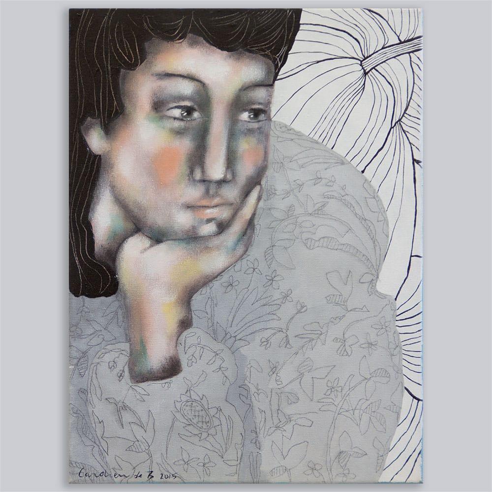 Schilderij Desire