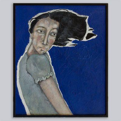 Schilderij Meewind