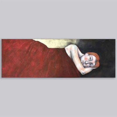 Schilderij Om-denken