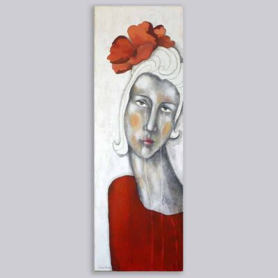 Schilderij Rosa Carina
