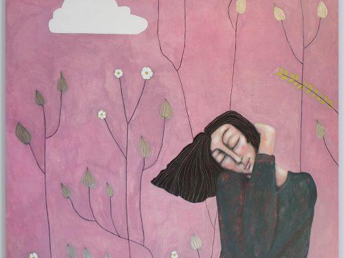Schilderij Selfembrace