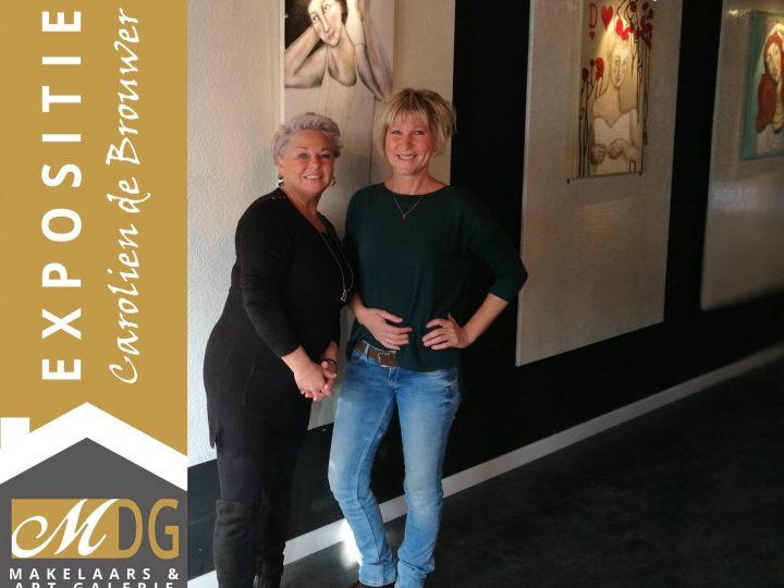Expositie bij MDG Makelaars & Art Galerie dec 2017 t/m febr 2018