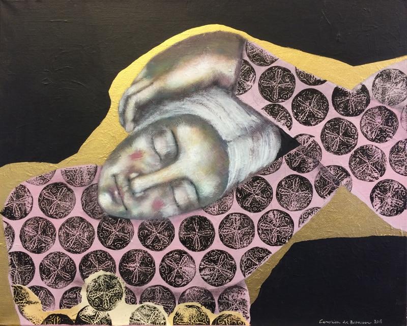 Man Ray Modigliani: 872 Mirroring Man Ray II 40 X 50cm